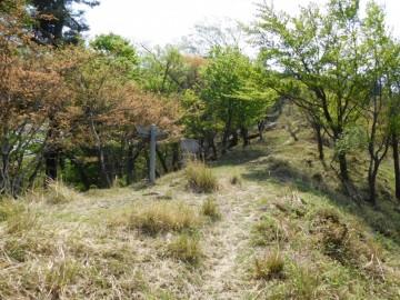 鬼ヶ城山からの縦走路