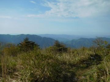 天狗ノ森山頂からの景色