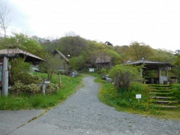 天狗ノ森への登山道