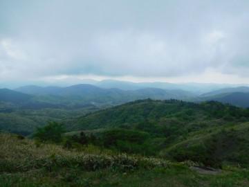 雲月山山頂からの景色