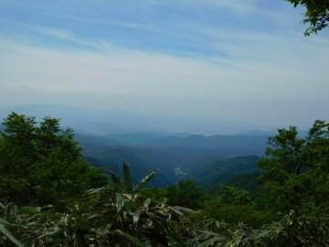 展望所からの景色