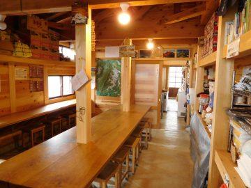 食堂兼の談話室