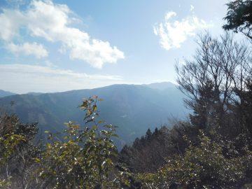 剣山方面の眺め