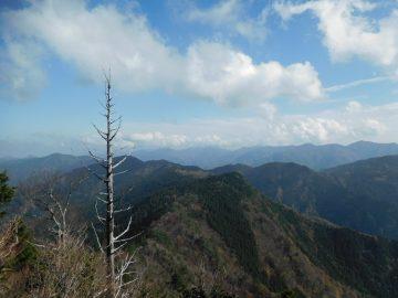 高城山方面の眺め