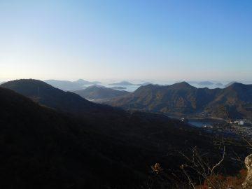荘内半島方面の景色