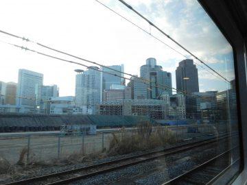 梅田の超高層ビル街