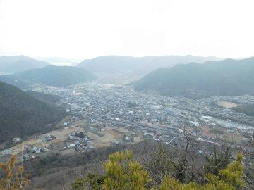 大岩からの景色