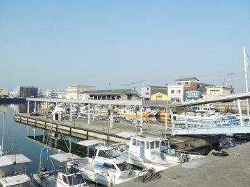 多度津港の乗場