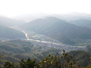 三角山山頂からの景色