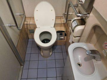 グリーン車のトイレ