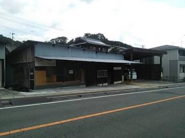 松家製麺所駐車場