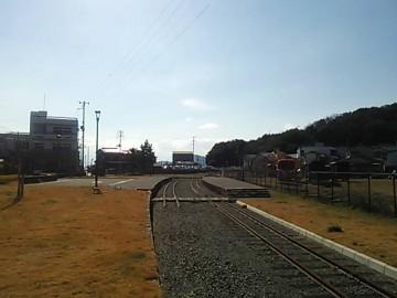 下津井駅跡