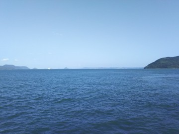 赤灯台から見る瀬戸内海の景色
