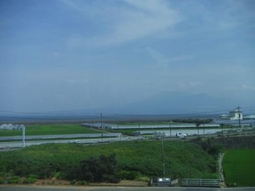 有明海と雲仙岳