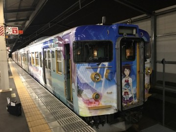 ひるね姫ラッピング列車