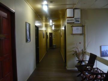 ラバンラタレストハウスの2階廊下