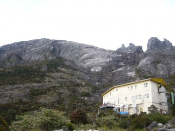 ラバンラタレストハウスから見るロバの耳