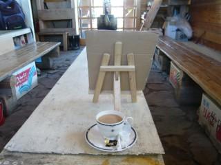赤石岳避難小屋のドリップコーヒー