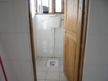 ホロンボハットの水洗トイレ