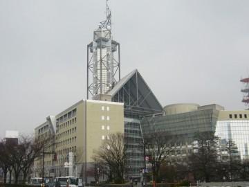 富山市役所の展望タワー