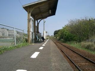 西大山駅から指宿方面