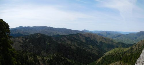 大神ヶ岳山頂からの景色