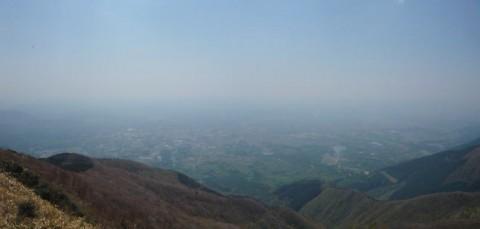 那岐山からの絶景