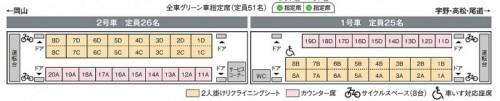 ラ・マルの座席表